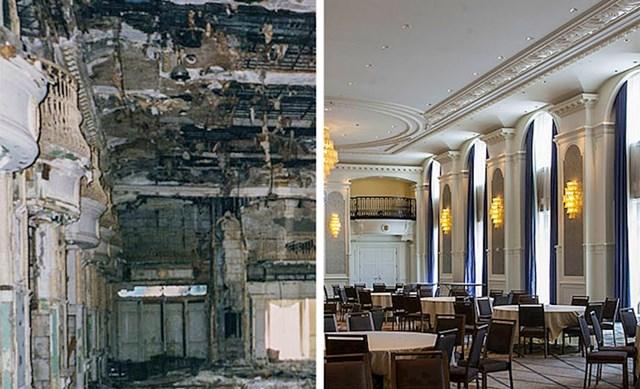 #4 Hotel prije i poslije obnove.