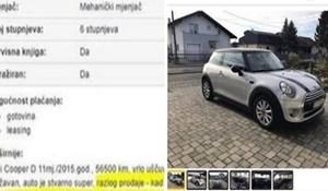 Očajni muž objavio je urnebesan oglas u kojem je objasnio zašto se treba riješiti auta