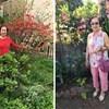 Ova elegantna baka postala je viralni hit, odijeva kombinacije koje pristaju cvijeću u njenom vrtu