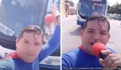 """VIDEO Nakon što ga je udario autobus, brazilski """"superman"""" od svega je napravio šalu"""