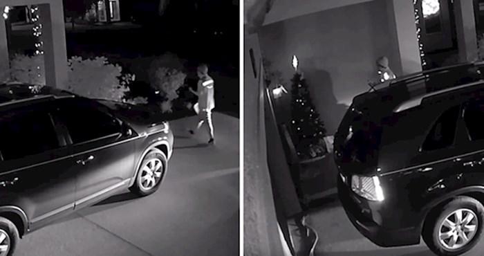 VIDEO Dostavljač je na adresi fotografirao paket, a onda se dogodilo nešto bezobrazno