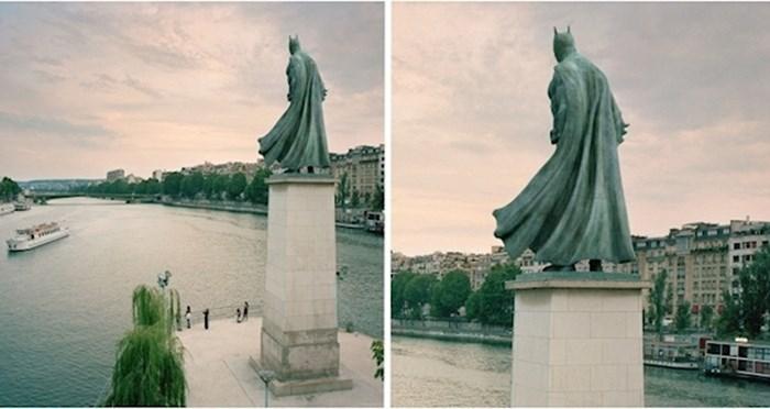 Ovaj digitalni umjetnik na pariške spomenike postavlja poznate likove pop kulture