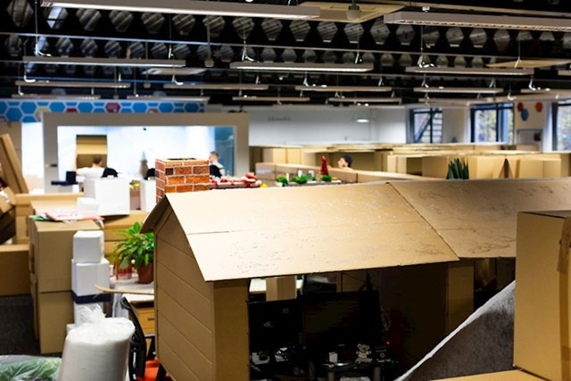 Sastavili su tlocrt koji je pokrio 247 kvadratnih metara uredskog prostora.