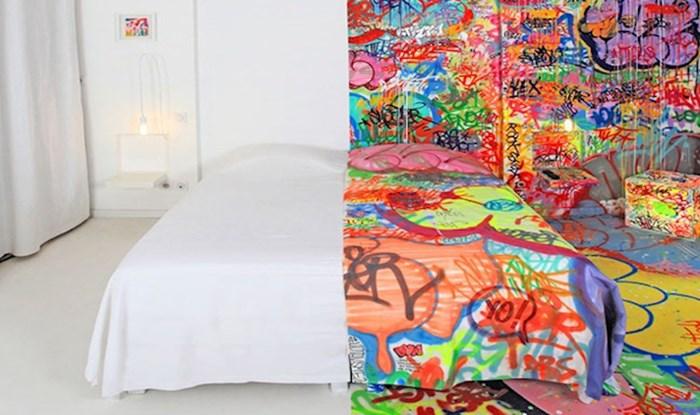 Ovaj umjetnik hotelsku sobu napravio je stvarno uzbudljivom