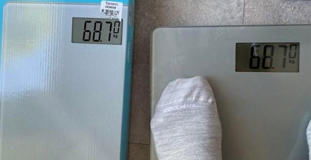 """74 / 5000 Rezultati prijevoda """"Kupio sam vagu za kupaonicu i moja težina je potpuno ista kao na kutiji."""""""