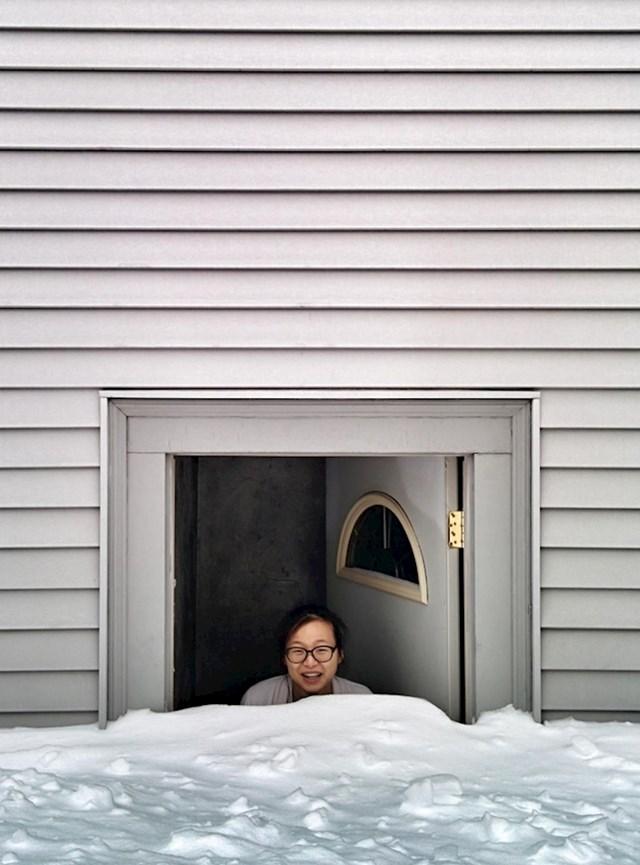 8. U Bostonu je malo sniježilo.