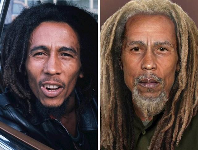 6. Bob Marley (1945-1981)