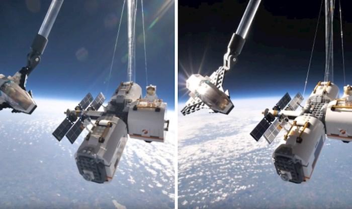 VIDEO Pogledajte kako izgleda LEGO let u svemir za 40. obljetnicu svemirskih setova