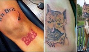 19 tetovaža koje ne možemo ne primijetiti; pogledajte kakve katastrofe su tetovirali