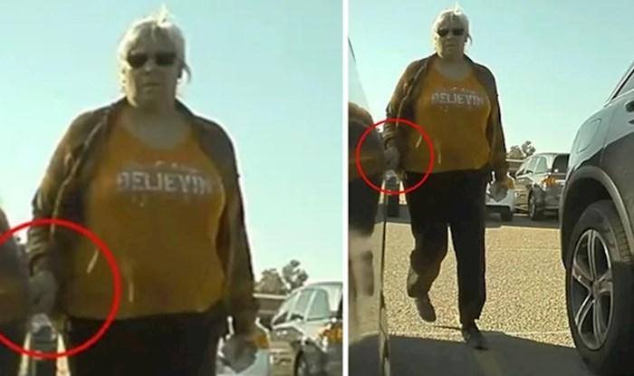 Ova žena ključevima je ogrebala automobil ali nije očekivala ono što je uslijedilo