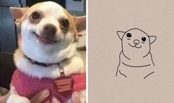Ovaj Twitter profil dijeli fotografije loše nacrtanih životinja, koje su previše smiješne