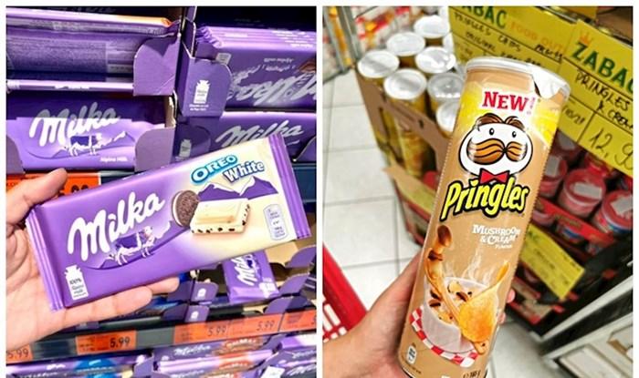 Idemo po dućanima: Biste li jeli Pringles s okusom gljiva?