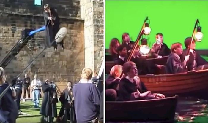 VIDEO Pogledajte kako je izgledalo snimanje prvog nastavka filma o čarobnjaku koji je zaludio svijet - Harryju Potteru