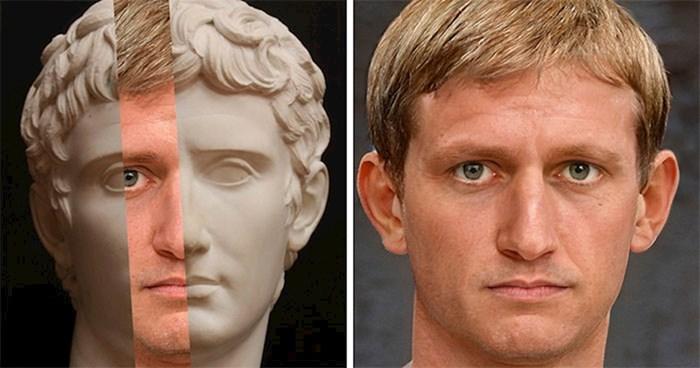 Umjetnik rekreira kako su izgledali rimski carevi koristeći Photoshop