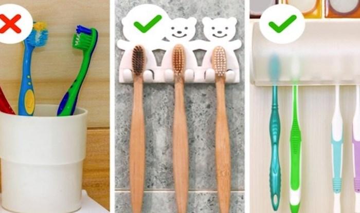 10 predmeta zbog kojih će vaša kupaonica izgledati neuredno