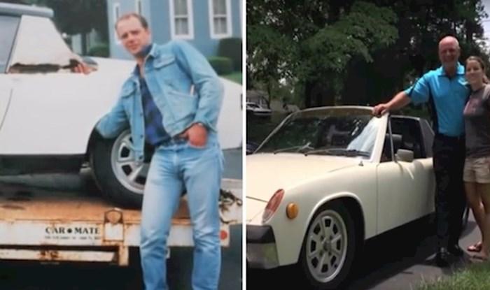 VIDEO Kćer je iznenadila očuha s Porscheom kojeg je davno prodao, razlog je dirljiv