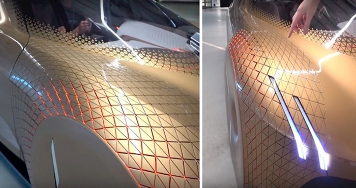 VIDEO Ovaj BMW izgleda kao da ima kožu reptila koja se kreće!