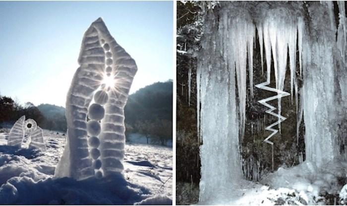 Ovaj umjetnik od leda i snijega stvara prekrasne skulpture