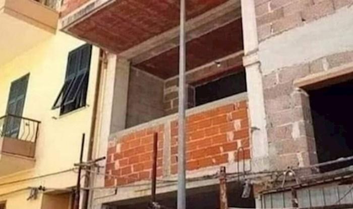 Netko je fotkao balkon u izgradnji koji je totalni građevinski promašaj, ovo morate vidjeti!