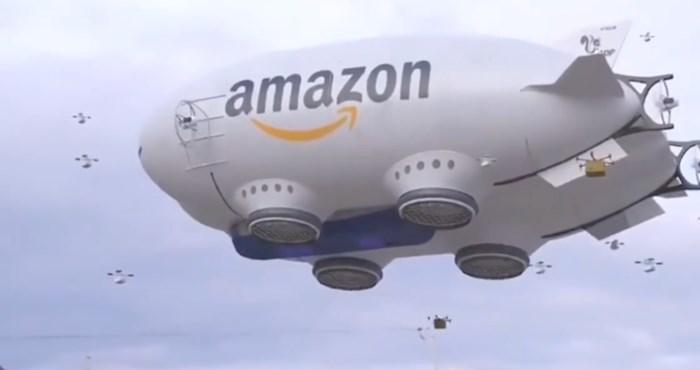 VIDEO Pogledajte kako bi vam paketi u budućnosti mogli biti dostavljeni