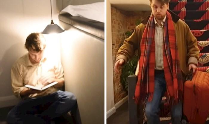 VIDEO Ova posebno dizajnirana hotelska soba ima zadatak naživcirati goste