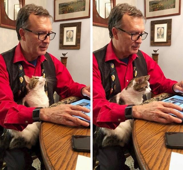 """""""Moj otac i mačka gledaju YouTube"""""""