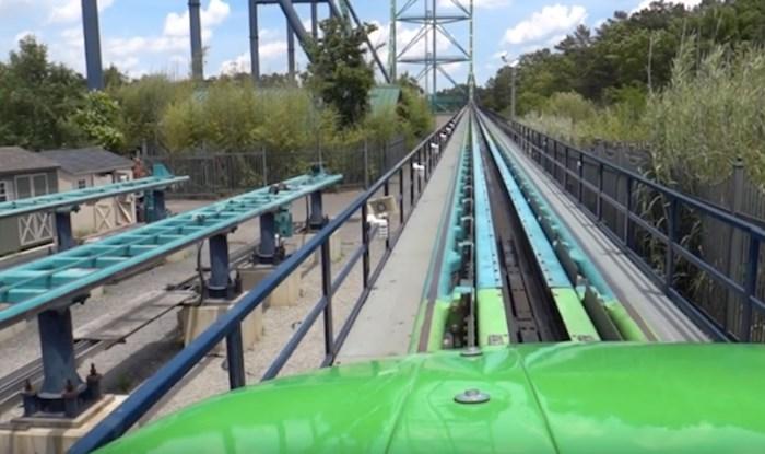 VIDEO Doživite vožnju u najvišem vlaku smrti na svijetu