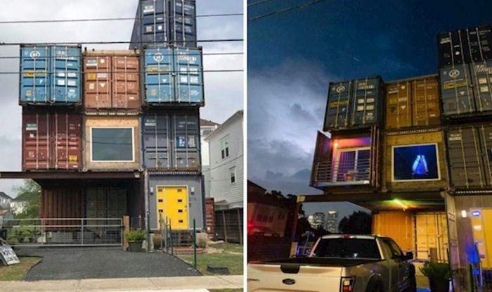 Ovaj čovjek iskoristio je 11 kontejnera za izgradnju kuće s nevjerojatnim interijerom