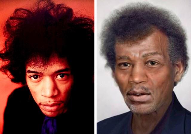 12. Jimi Hendrix (1942-1970)