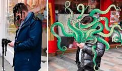 Umjetnik ilustrira čudovišta koja izlaze iz mobitela jer previše gledamo u njih