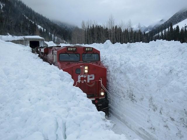 11. Ovaj kanadski vlak mora biti na strogoj dijeti.