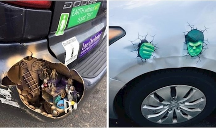 15 ljudi koji su sami zakrpali svoje automobile na poseban i kreativan način