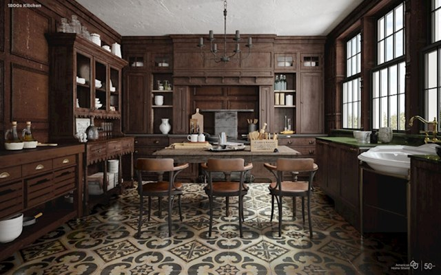 Kuhinja 1800-ih godina