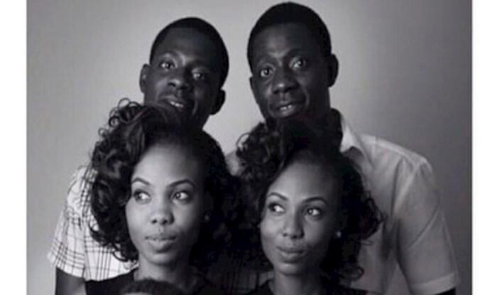 Braća blizanci koji su se oženili sestrama blizankama sad imaju djecu koja nevjerojatno sliče