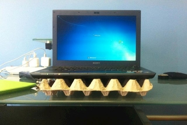 #2 Najjeftiniji način za ohladiti laptop..