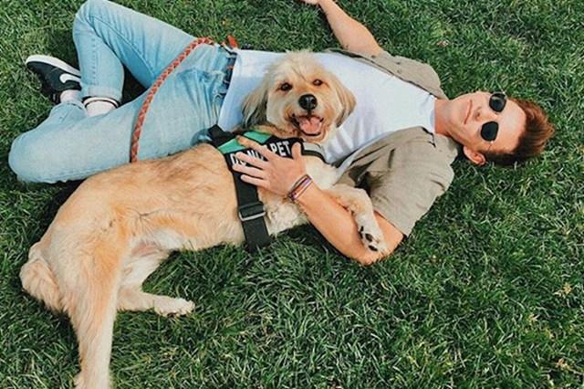 13. Kevin McHale i model Sophie.