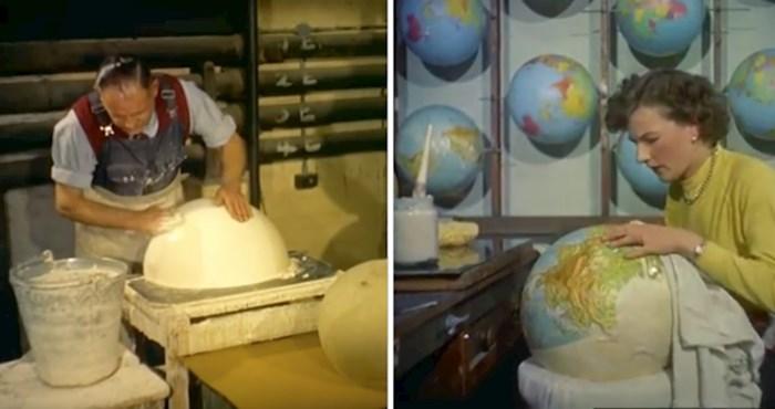 VIDEO Pogledajte kako je izgledala izrada svjetlećih globusa 1955. godine