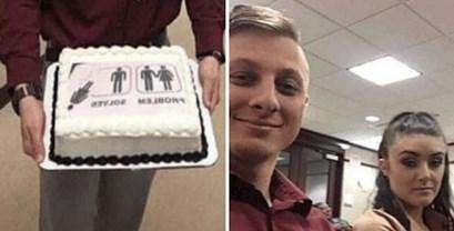 Sve je lakše uz tortu, ovaj lik donio je tortu na sud za razvod brakova