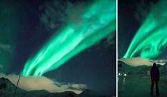 VIDEO Prekrasna snimka očaravajuće polarne svjetlosti iznad Norveške