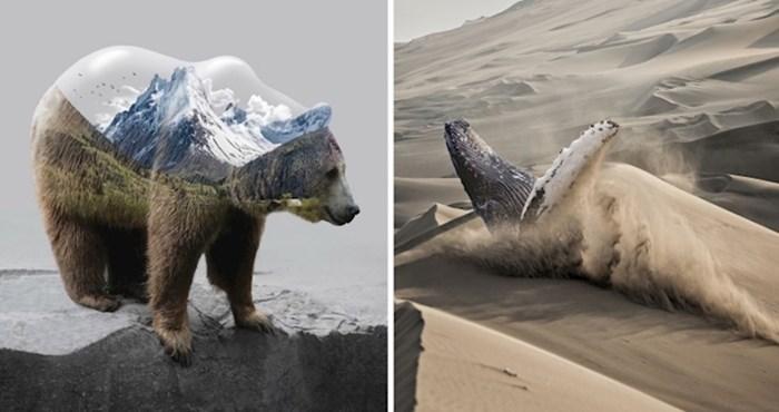 20 impresivnih slika životinja transformiranih pomoću Photoshopa