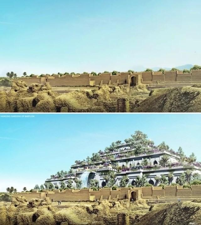 Semiramidini viseći vrtovi u Babilonu