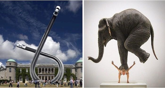 10 skulptura koje prkose gravitaciji i koje ćete morati pogledati dvaput