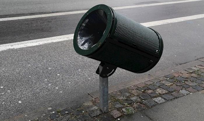 Ova biciklistička staza u Danskoj ima prilagođenu kantu za bicikliste