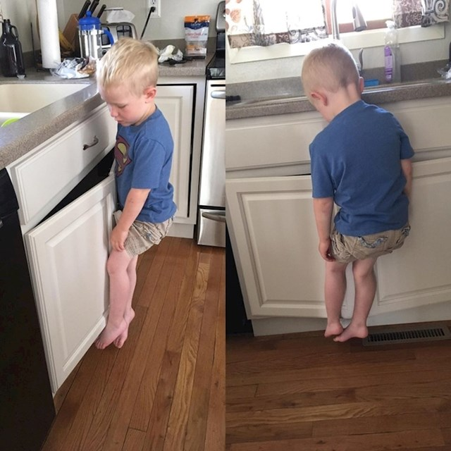 """""""Moj sin je zapeo nakon što je oprao ruke. Samo je visio tamo ... bespomoćno. """""""