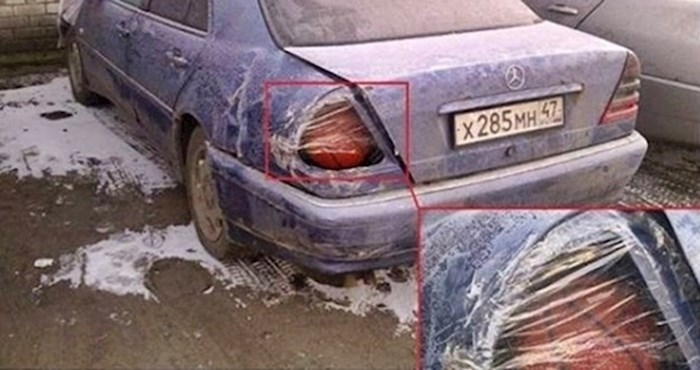 13 smiješnih slučajeva kad su ljudi pokušali srediti svoje aute na jako čudan način