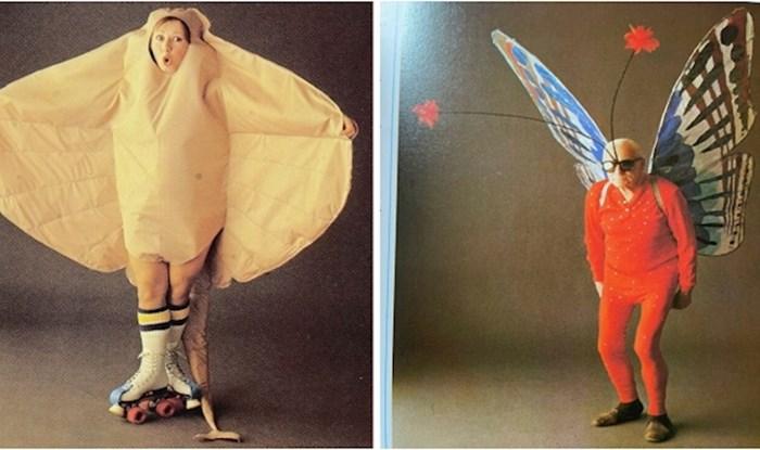 Pronašla je bačenu knjigu o kostimima iz 1986. godine s bizarnim kreacijama