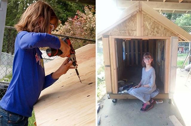"""12. """"Devetogodišnja djevojčica gradi utočišta za beskućnike i uzgaja hranu za njih."""""""