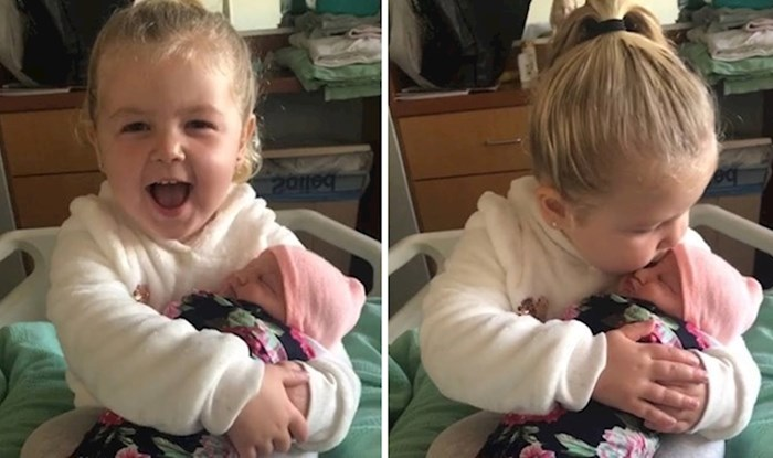 VIDEO Pogledajte kako je izgledao predivni trenutak kada je Molly upoznala sestru
