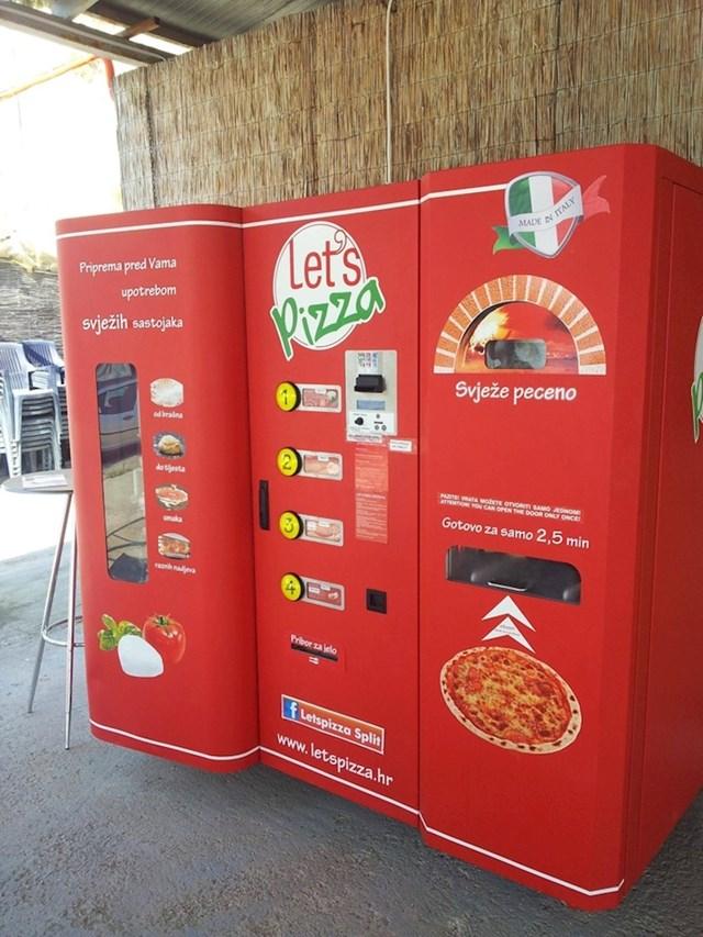 #3 U Zagrebu možete za tri minute dobiti svježu pizzu.