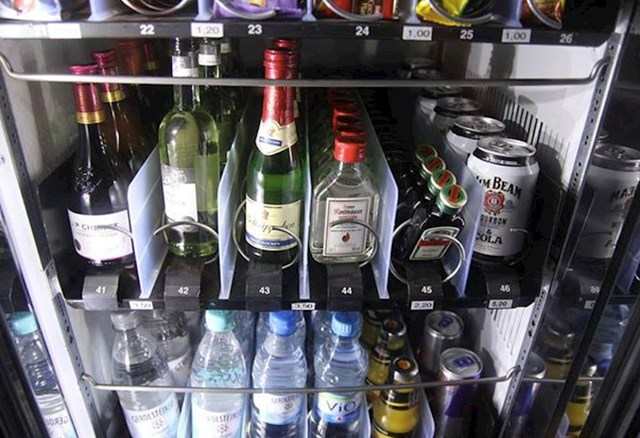 #6 Nijemci stvarno znaju važnost opcija pića.